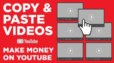Earn $100 Per Day To Copy & Paste Video Clips - BEST TUTORIAL (Make Money Online)