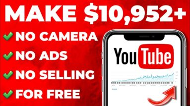 Earn $10,952+ Using YouTube WITHOUT UPLOADING Videos! (No Selling - Passive Income)