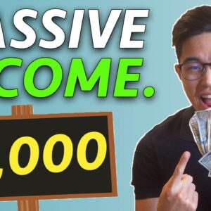 6 TOP Ways to Make Passive Income (with under $1000)