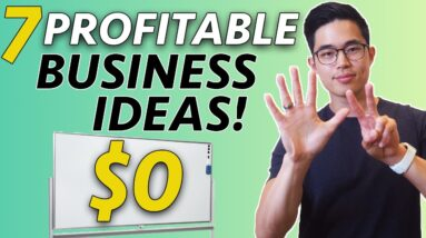 7 TOP Business Ideas You Can Start With NO MONEY