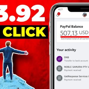 EARN $13.92 PER CLICK Worldwide For FREE (Make Money Online)