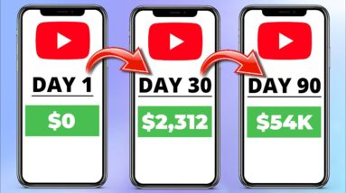 EARN $54,400+ On Youtube Without Making Videos