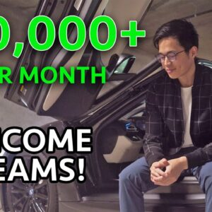 How I Built 10 Income Sources That Generate $40,000+ Per Month