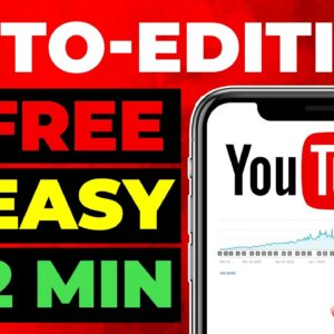 HOW To AUTO-EDIT YouTube VIDEOS For FREE
