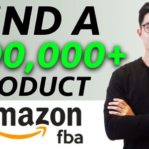 How to Find a Profitable Product For Amazon FBA (My A-Z Method)