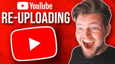 How To Make Money Re-Uploading YouTube Videos ($7,600+ PER MONTH)