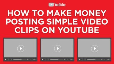 How To Make Money Posting Simple Clips On YouTube ($100+ Per Day) Make Money Online