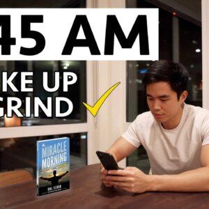 My 4:45 AM Morning Routine ($500,000/Year Entrepreneur)