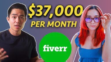 She Makes $37,000 Per Month Writing on Fiverr.. Here's How!