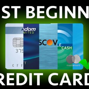 The 6 TOP Credit Cards for Beginners (High Rewards)