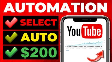 Youtube Automation: How to Make Money on YouTube Without Editing Videos