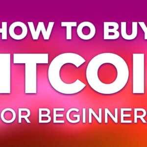 How To Buy Bitcoin For Beginners - Step By Step Tutorial