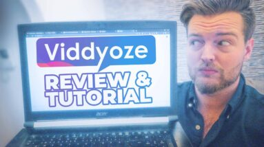 Viddyoze Review & Tutorial [$210/Day Strategy]