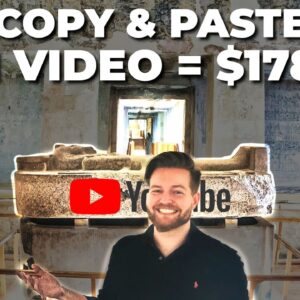 Copy & Paste Videos And Earn $178 Per Video (Step by Step Tutorial - No YouTube)