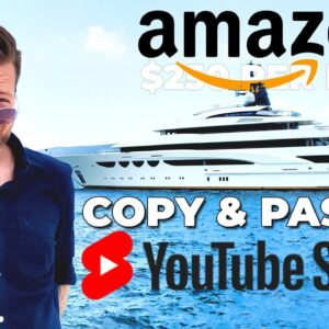 Amazon Affiliate Marketing By Copy & Pasting YouTube Shorts 2021 [FREE $250/Day STRATEGY]