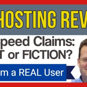 A2 Hosting Review | Speed Claims - FACT or FICTION? in this A2 Hosting Review | From a REAL A2 User