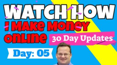 How I Make Money Online | Day 5 Update |  Clickbank Training
