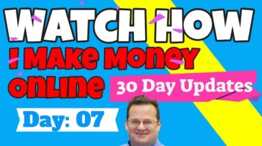 How I Make Money Online | Day 7 Update | How to Bonus Shop