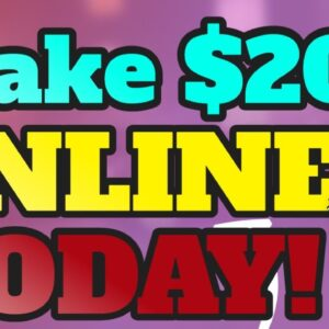 How to make 20 dollars online | How to make 20 dollars a day online