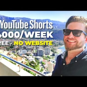 Copy & Paste YouTube Shorts And Make Money On Youtube Without Making Videos