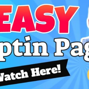Easy Optin Page Examples - How To Create An Easy Optin Page (No Domain, No Hosting, No Clickfunnels)