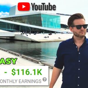 Make $12,200 Per Month On YouTube Without Making Videos